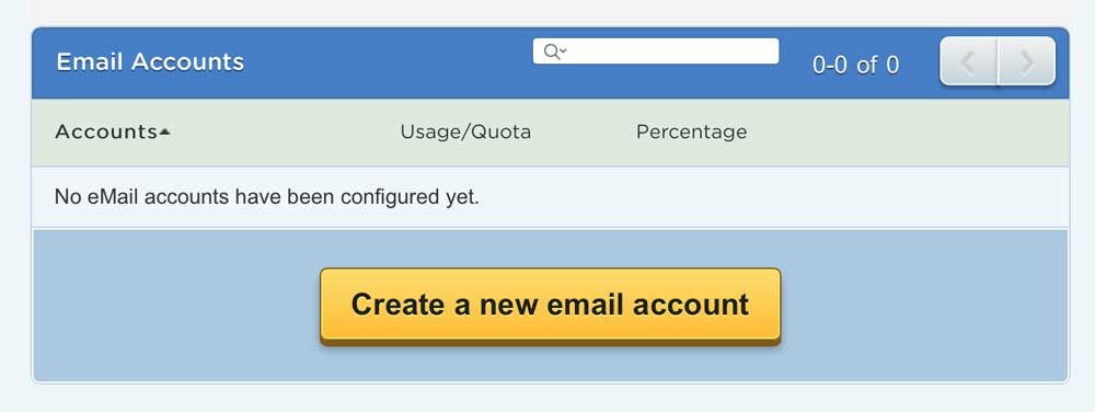 Create an email address